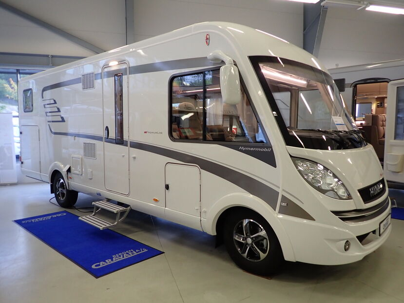 Siste Bergen Caravan - Hymer B-klasse PL 704 Norway Line Reg. for 5 MR-79